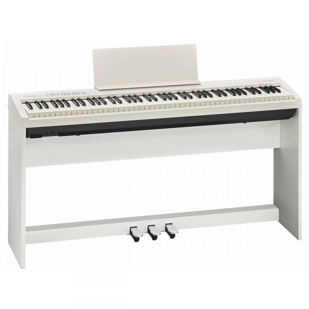 Roland Fp 30 Digital Piano With Stand And Pedals White Pmt Online