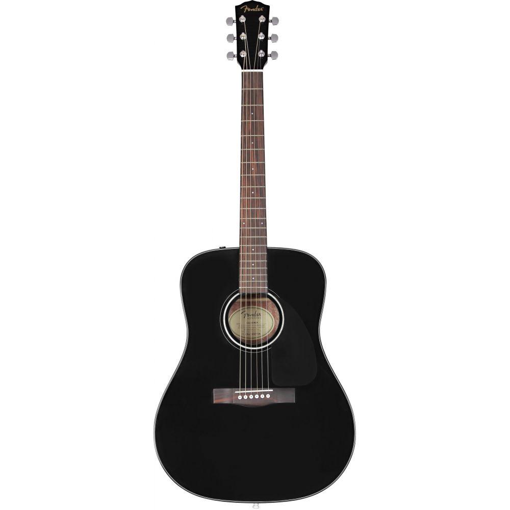 Fender Cd 60 Dread V3 Ds Acoustic Guitar Black Pmt Online